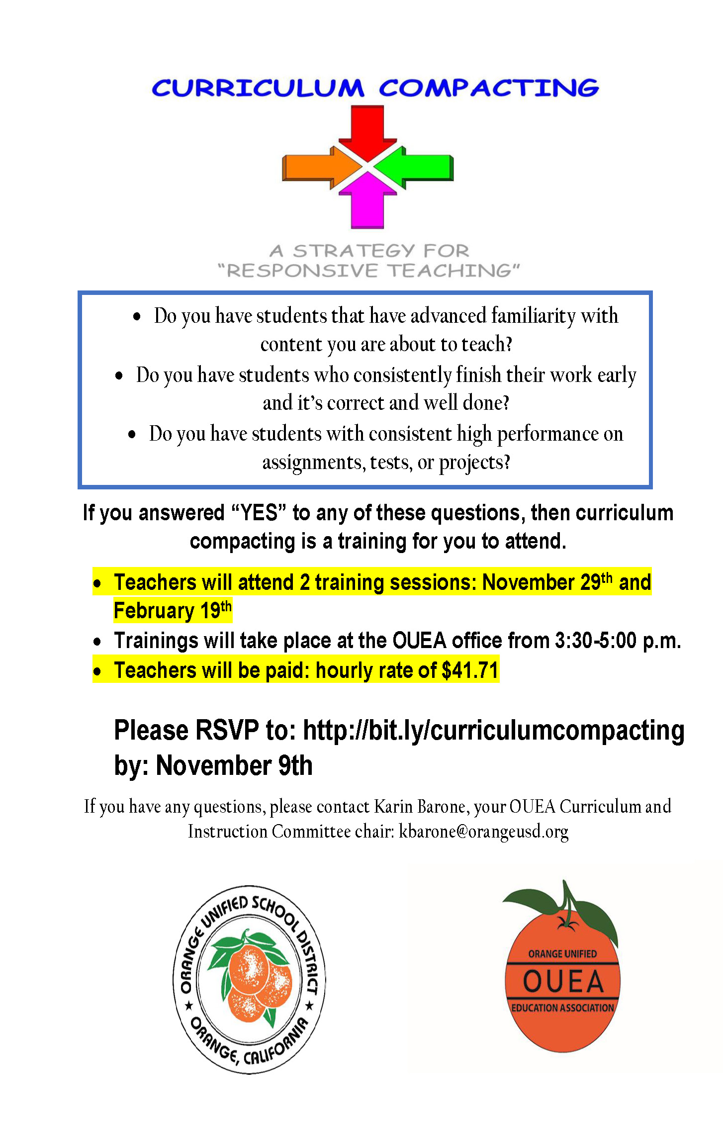 curriculum compacting flyer